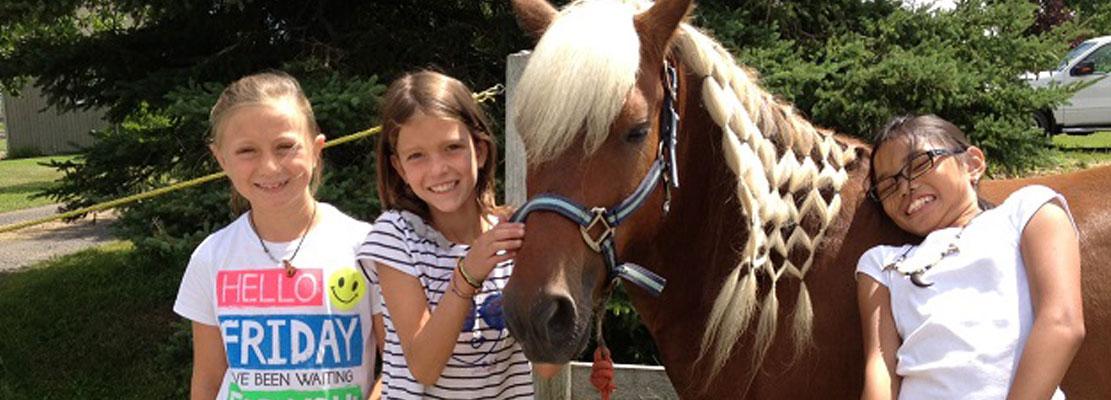 Camps de jour d'équitation 2018